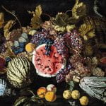 """""""Still Life of Fruit"""" by Giovan Battista (17th-century)"""