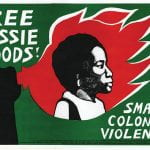 """""""Free Dessie Woods"""" Protest Sign"""